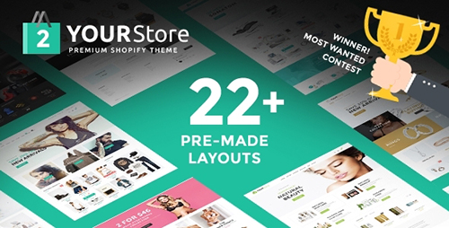 12 preview - Shopify Template