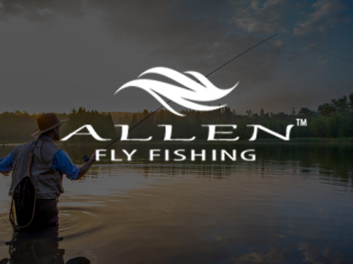 Allen fly fishing logo 510x382 - Logo Design