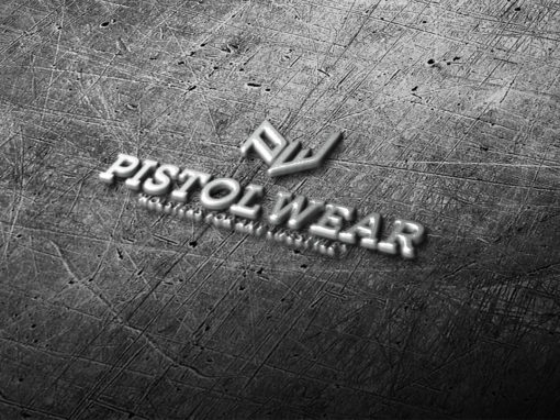 Pistol Wear logo 510x382 - Logo Design