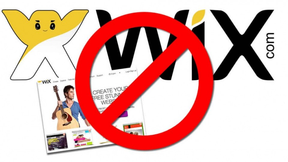 So Many Reasons Why You Should Not Use Wix